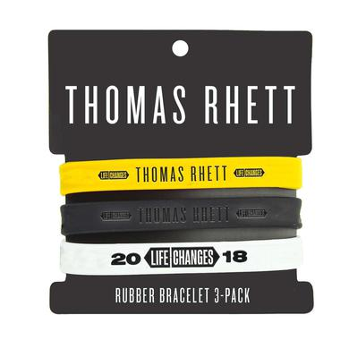 Thomas Rhett 2018 Life Changes Tour Rubber Bracelet Set