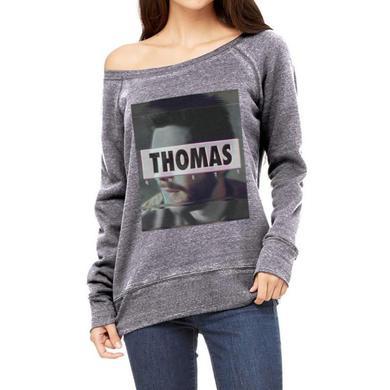 Thomas Rhett Glitchy Womens Slouchy Sweater