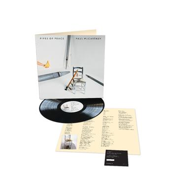 Paul McCartney Pipes of Peace – Black LP (Vinyl)