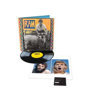 Paul McCartney RAM - Black LP (Vinyl)