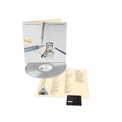 Paul McCartney Pipes of Peace - Limited Edition - Silver LP (Vinyl)