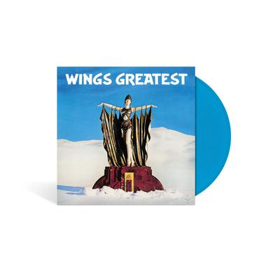 Paul McCartney Wings Greatest - Limited Edition - Blue LP (Vinyl)