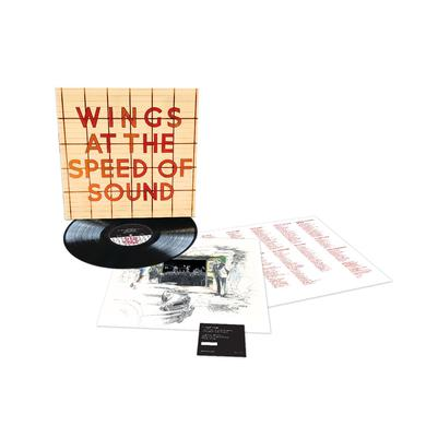 Paul McCartney At The Speed Of Sound - Black LP (Vinyl)