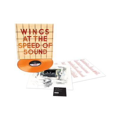 Paul McCartney At The Speed Of Sound - Limited Edition - Orange LP (Vinyl)