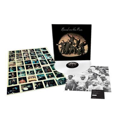 Paul McCartney Band on the Run - Limited Edition - White LP (Vinyl)