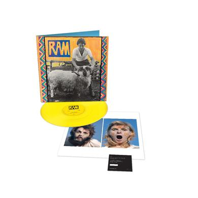 Paul McCartney RAM - Limited Edition - Yellow LP (Vinyl)