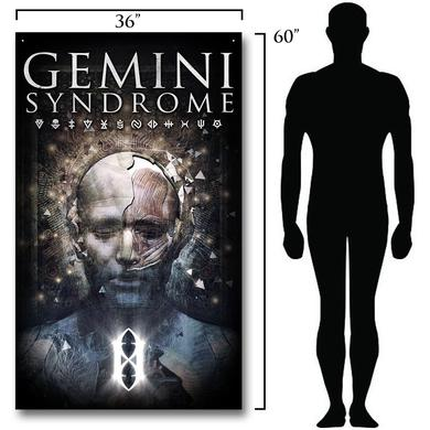 Gemini Syndrome Memento Mori Wall Flag - 5' x 3' feet