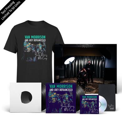 Van Morrison You're Driving Me Crazy Test Pressing + CD + LP + Tee + Litho + Moleskine Journal + Download