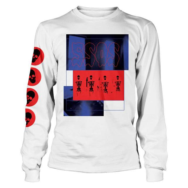 5 Seconds Of Summer LIMITED EDITION Skeleton L/S