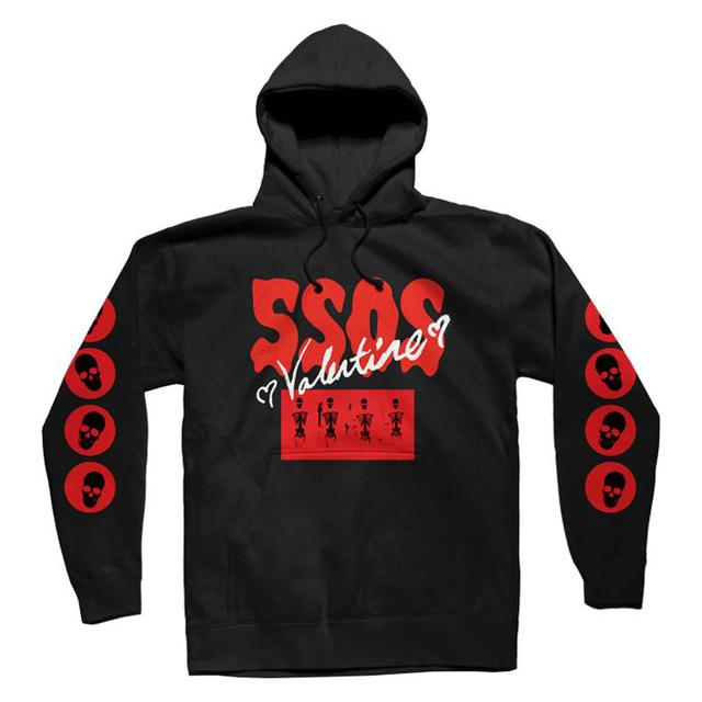 5 Seconds Of Summer LIMITED EDITION Valentine Melt Hoodie