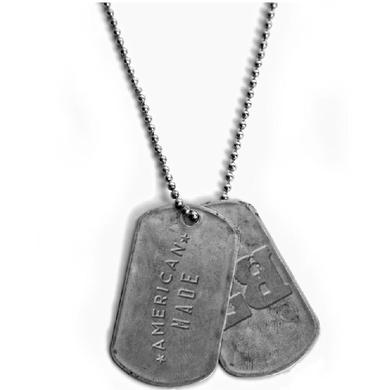 Lee Brice Dog Tag Necklace