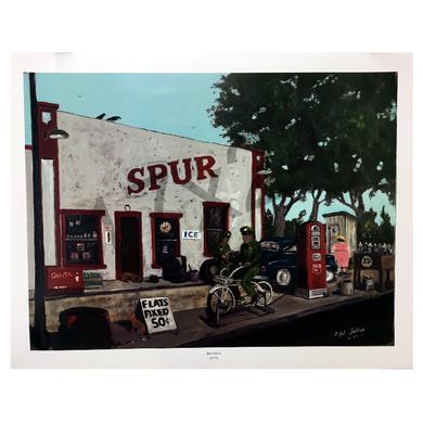Mel Tillis Print- Spur Station