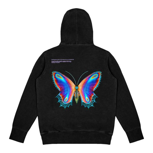 Halsey Multicolor Butterfly Hoodie