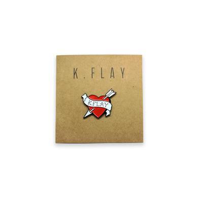 K.Flay Heart Enamel Pin