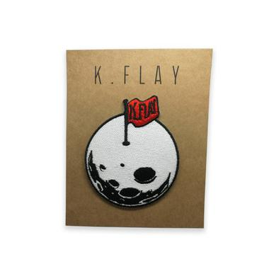 K.Flay White Moon Patch