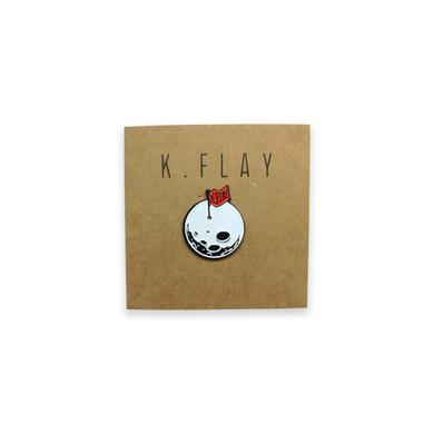 K.Flay Moon Enamel Pin