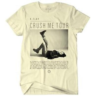 K.Flay Crush Me Tour Part 1 Tee