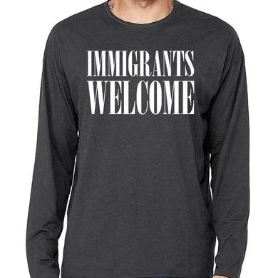K.Flay Immigrants Welcome Long Sleeve Tee