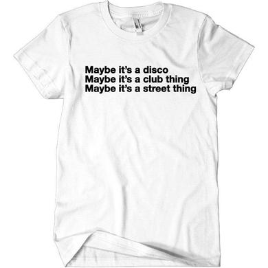 The Knocks Maybe Tee White