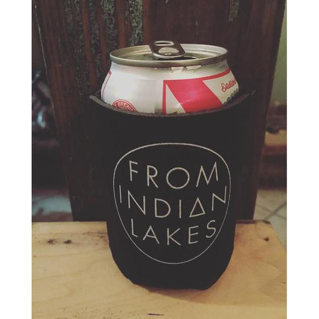 From Indian Lakes FIL Koozie