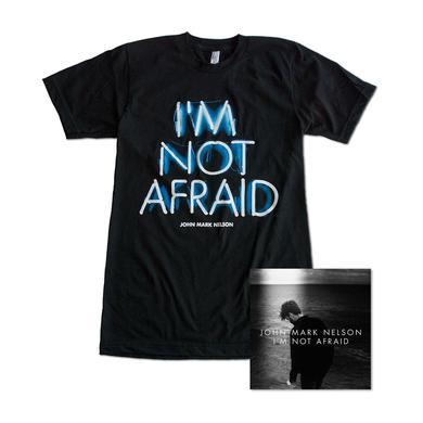 John Mark Nelson I'm Not Afraid (LP) & T-shirt Bundle