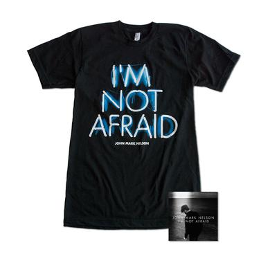 John Mark Nelson I'm Not Afraid (CD) & T-shirt Bundle