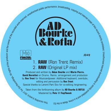 AD Bourke & ROTLA - RAW (includes Ron Trent Remix) [2018]