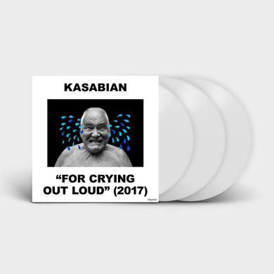 Kasabian For Crying Out Loud - Exclusive Triple White 10""
