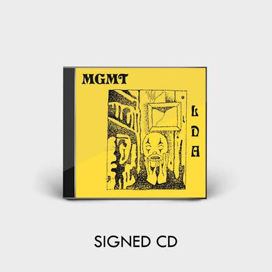 Mgmt LITTLE DARK AGE - SIGNED CD
