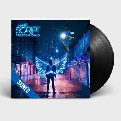 The Script FREEDOM CHILD - SIGNED LP (Vinyl)