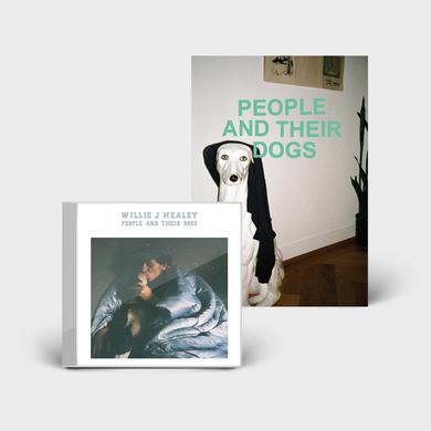 Willie J Healey PEOPLE AND THEIR DOGS - CD + ZINE