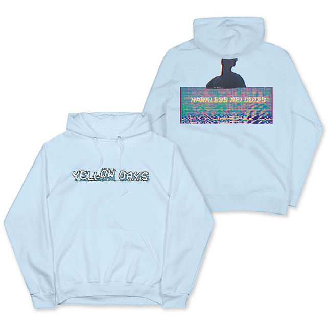 Yellow Days HARMLESS MELODIES BLUE PULLOVER HOOD