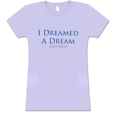 Susan Boyle Dreamed Violet Sleep Shirt