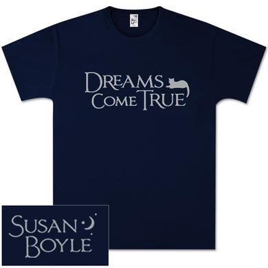Susan Boyle Half Moon Navy T-Shirt