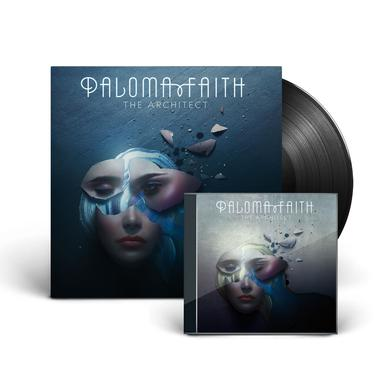 Paloma Faith THE ARCHITECT DELUXE CD + LP (Vinyl)