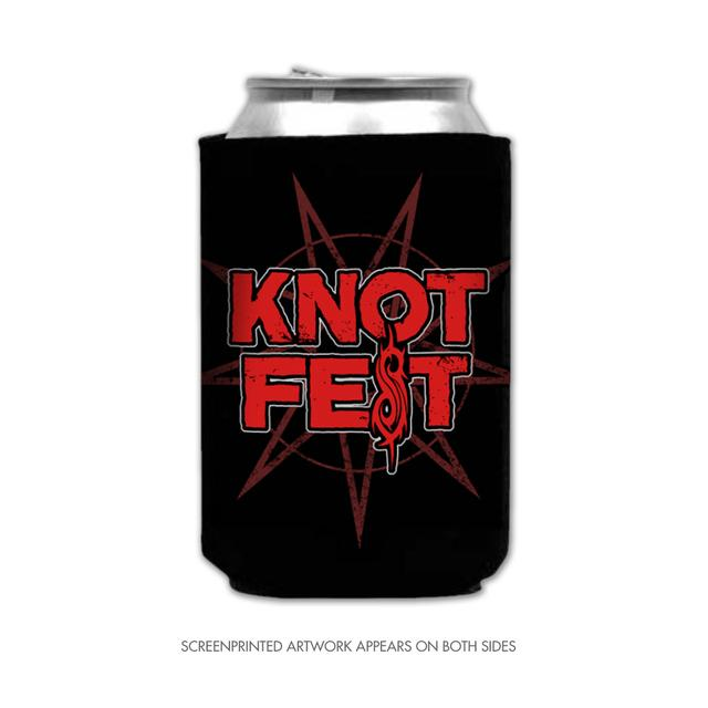 Slipknot Knotfest Star and Logo Beer Koozie