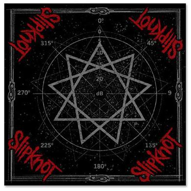 Slipknot Star Scratch Bandana