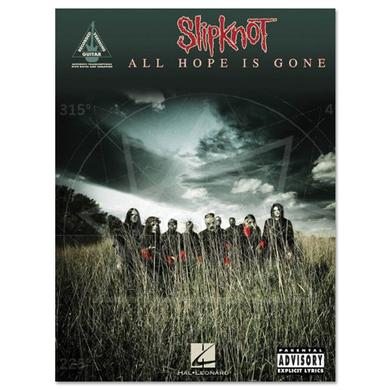 Slipknot All Hope Is Gone Songbook
