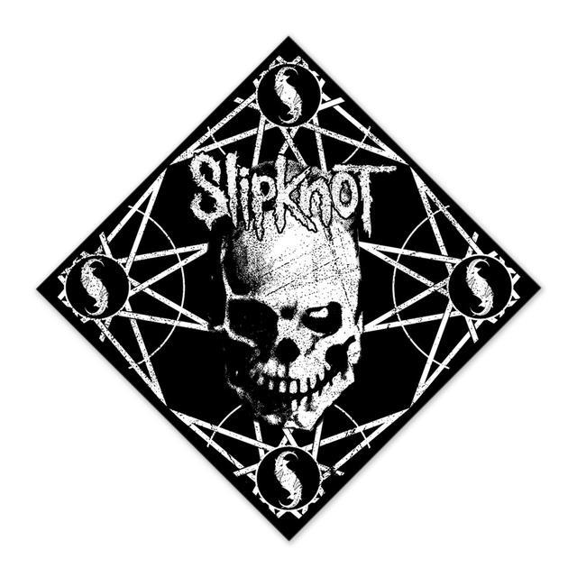 Slipknot Skull and Stars Bandana