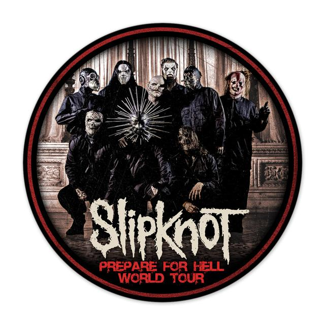 "Slipknot PFH 4"" Round Sticker"