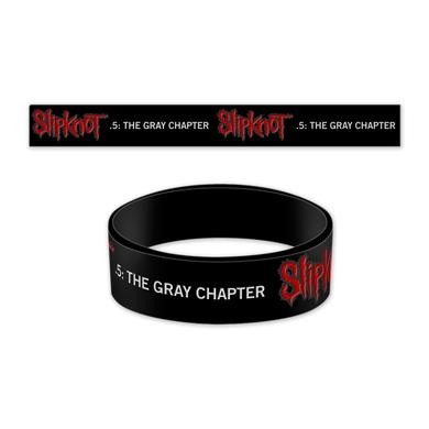 Slipknot The Gray Chapter Rubber Bracelet