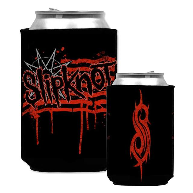 Slipknot Stripes Beer Koozie