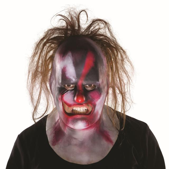 Slipknot Clown Full Mask w/ Hair