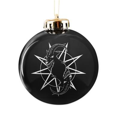 Slipknot Goat Logo Ornament