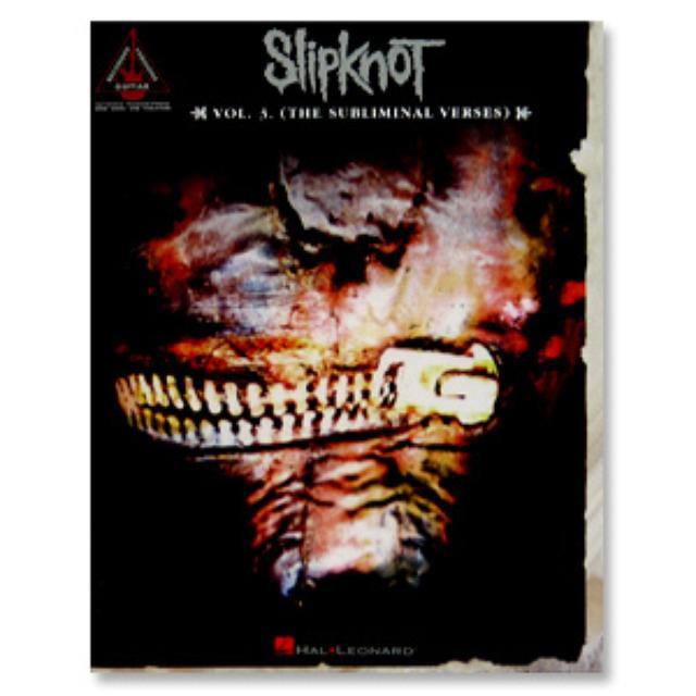 Slipknot Vol. 3 Songbook