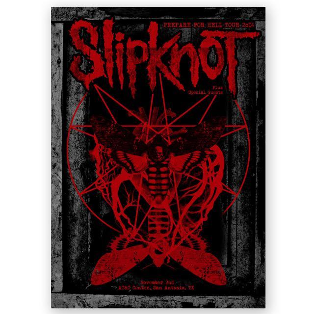 Slipknot San Antonio Event Poster