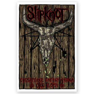 Slipknot OKC Event Poster