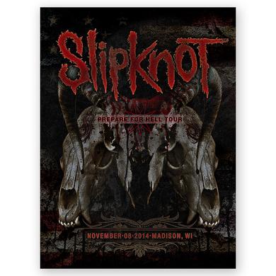 Slipknot Madison Event Poster