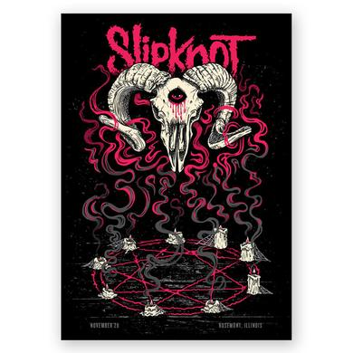 Slipknot Rosemont Event Poster