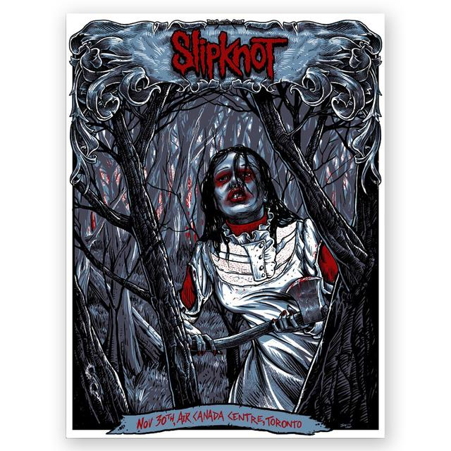 Slipknot Toronto Event Poster